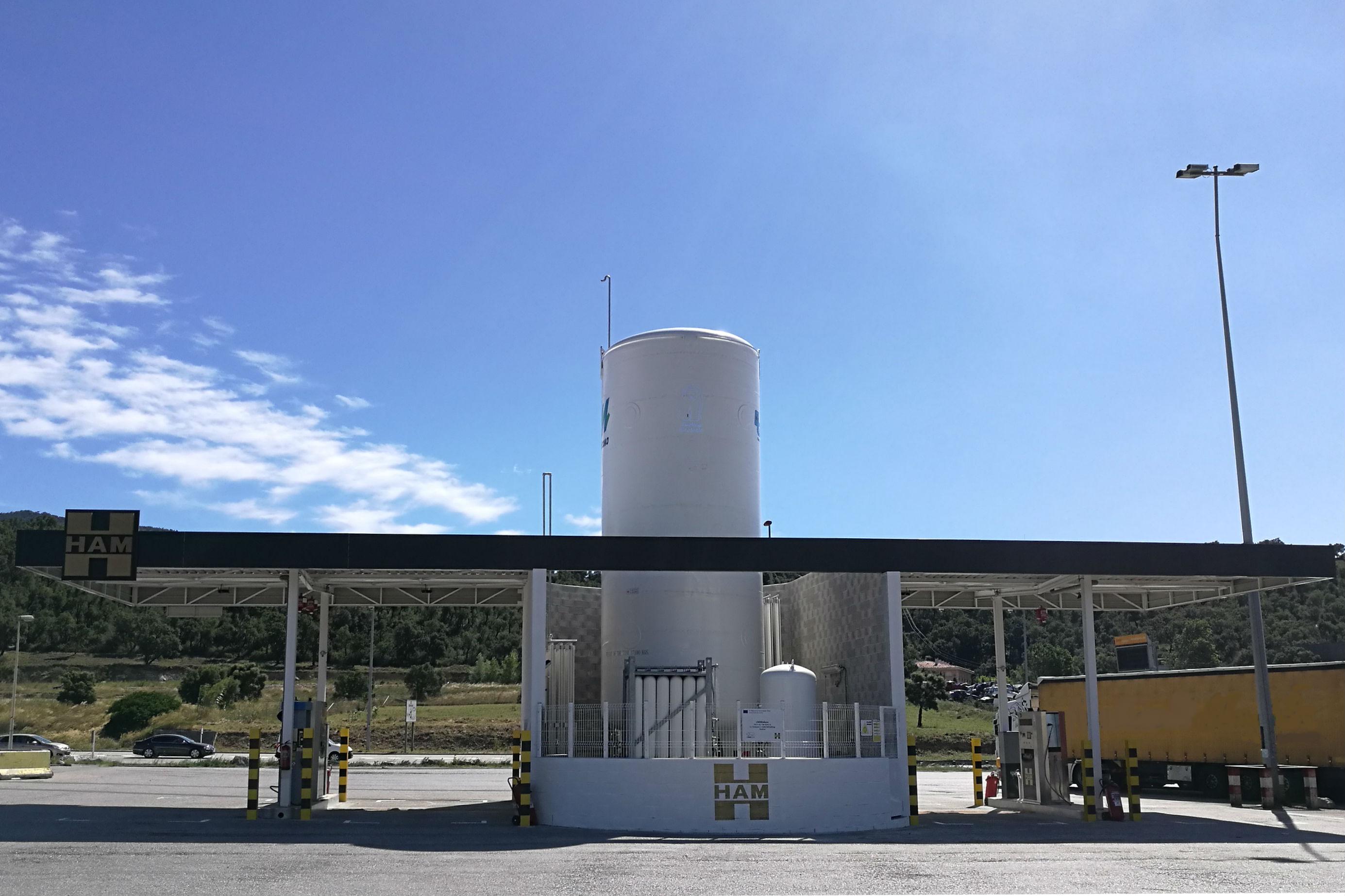 Grupo ham estaciones de servicio de gas natural licuado gnl for Gas natural servicios