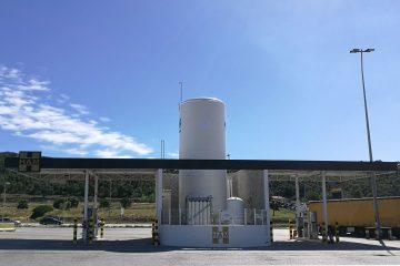Estaciones de servicio GNL