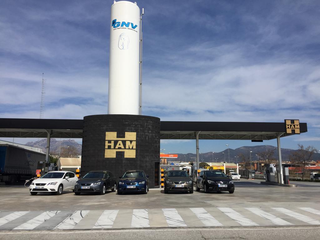 En Grupo HAM disponemos de una amplía red de estaciones de servicio de GNC y GNL en España y resto de Europa