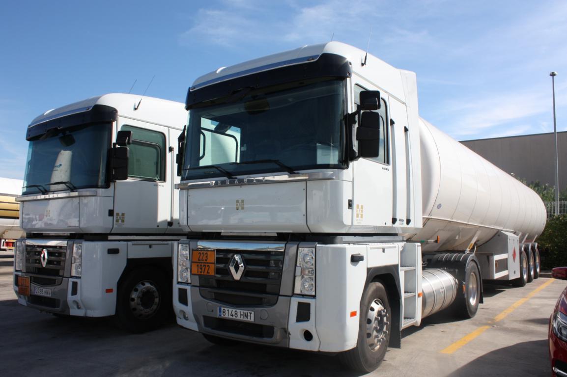Transpores HAM se encarga del transporte por carretera de gas natural licuado y otros productos