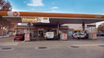 Nueva instalación de gas natural de HAM en la gasolinera de Galp en Cornellá (Barcelona)