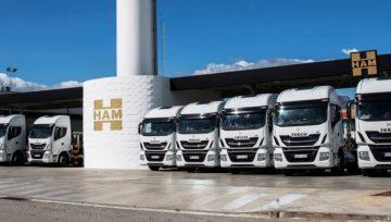 Transportes HAM ha incorporado a su flota el nuevo Iveco Stralis NP propulsado por gas natural.