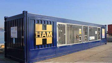 HAM presente en el proyecto de innovación CORE LNGas Hive en el puerto de Barcelona