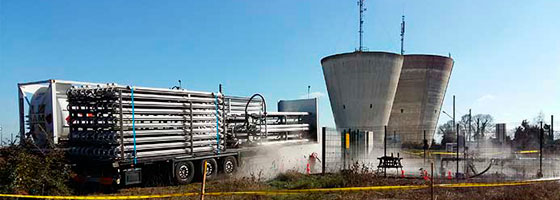 Grupo HAM le ofrece soluciones móviles de gas natural licuado para uso industrial