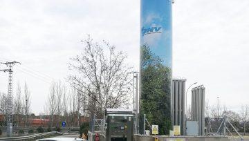 HAM inaugura un nuevo surtidor de gas natural comprimido GNC en la estación de servicio Tres Cantos