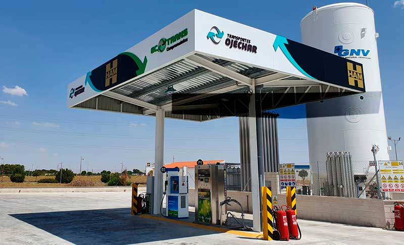 HAM Group has opened a service station for compressed natural gas (CNG) and liquefied natural gas (LNG) in La Roda, Albacete
