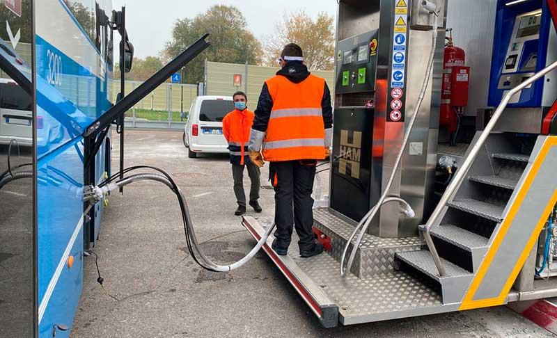HAM Italia installs its first Liquefied Natural Gas mobile unit in Bologna for Tper S.p.a.
