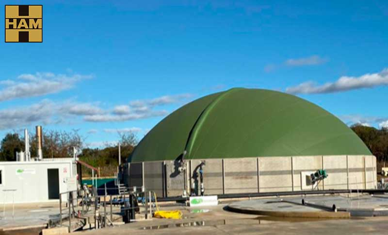 HAM Group is developing the first vehicular biomethane project in Spain